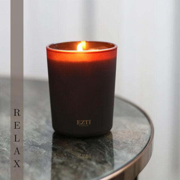 Świeca sojowa RELAX ezti candles