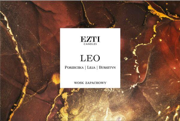 Znaki zodiaku Lew Leo wosk zapachowy EZTI