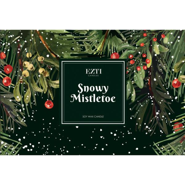 snowy mistletoe Ezti Candles wosk zapachowy
