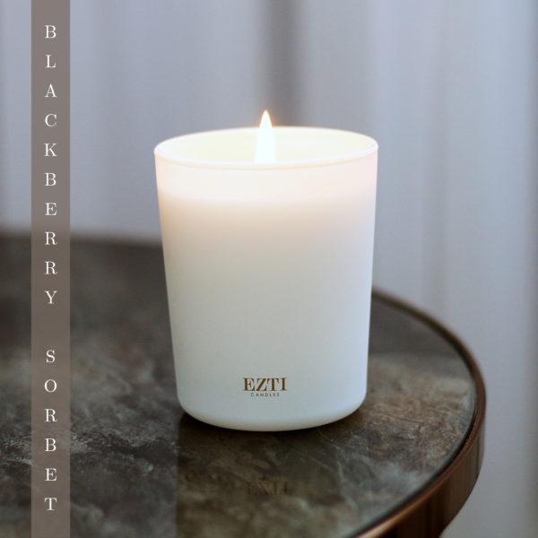Świeca sojowa Blackberry Sorbet ezti candles B